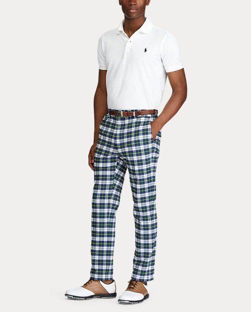 Tailored Fit Seersucker Pant Golf Pants Women Golf Pants Golf Pants Men