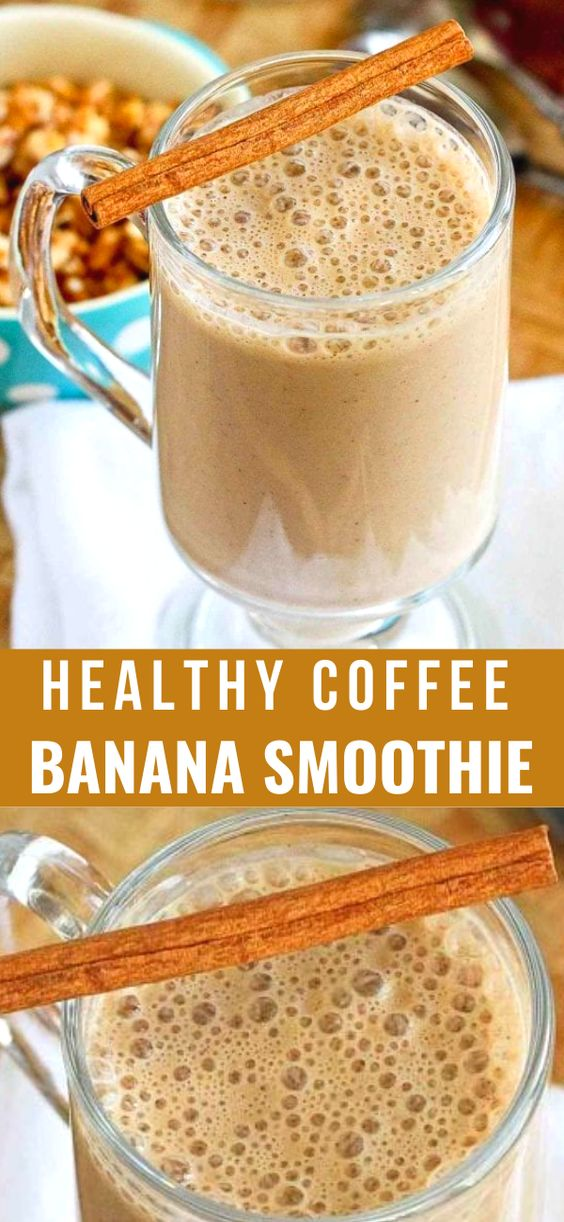 Weight Watchers Coffee Banana Smoothie