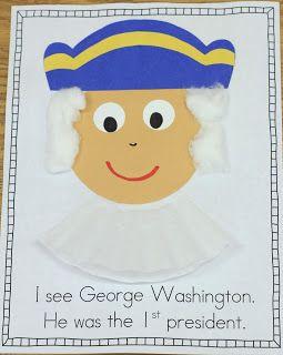 Mrs. Ricca's Kindergarten: Presidents' Day Freebie!