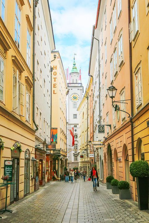 All the best things to do in Salzburg Austria, PLUS where to find the original Sound of Music film locations so you can take your own FREE Self-Guided Sound Of Music Tour in Salzburg!