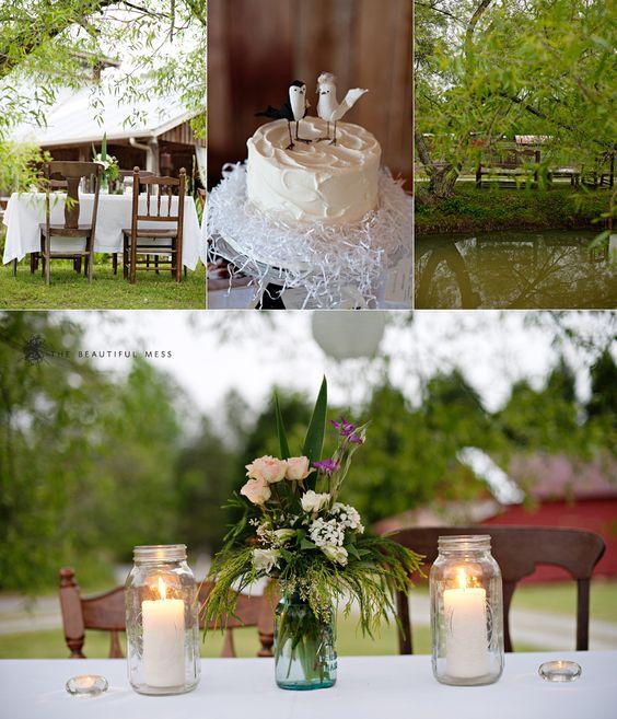 Spring wedding.