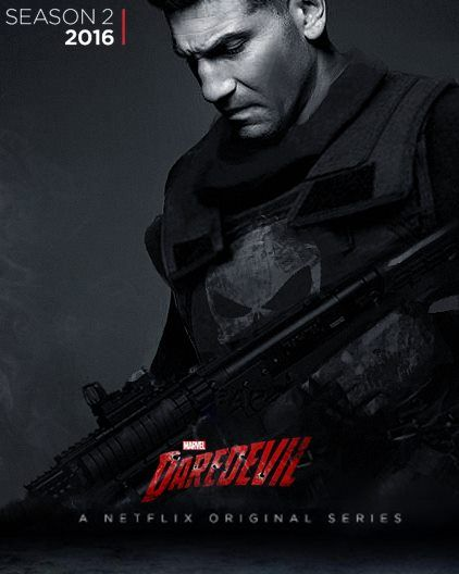UPDATE FAN ART Jon Bernthal As THE PUNISHER Season 2 Of The Daredevil