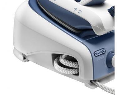 Ferro a Vapor com Caldeira DeLonghi VVX1445 - Branco e Azul com as melhores condições você encontra no Magazine Max2016. Confira!
