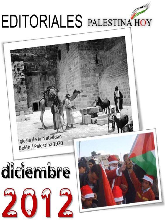 Editoriales Palestina Hoy Diciembre 2012