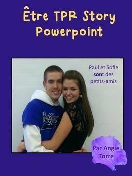 French Être PowerPoint and TPR Story by Angie Torre  This Être TPR Story is…