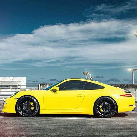 991 Carrera Yellow