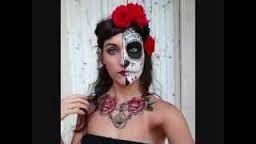 caveira mexicana paint face - Pesquisa do Google