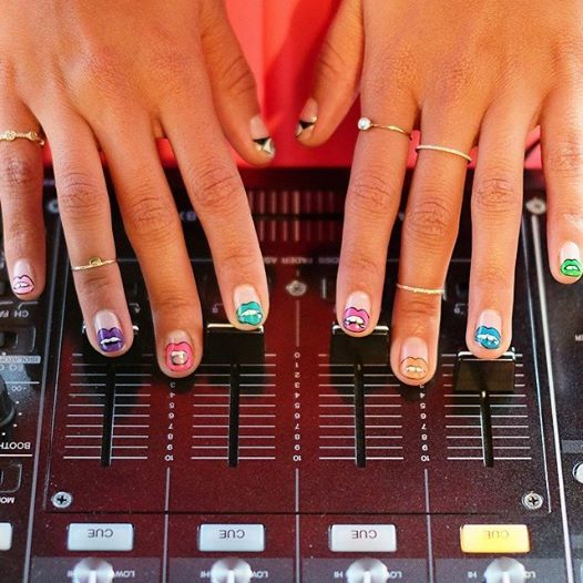 #MBFW mani care of @ciaomanhattan2012. Photo by Tracy Bailey Jr.