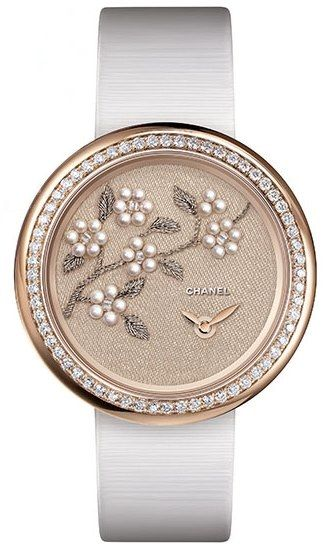Chanel Mademoiselle Prive Camelia with Lesage Embroidery
