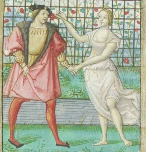 16th century (ca. 1520) France  New York, Morgan Library & Museum  M. 948: Roman de la Rose  38r