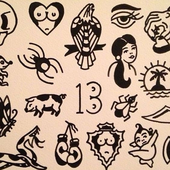American Traditional Filler: Traditional Tattoo Flash - Google-søgning