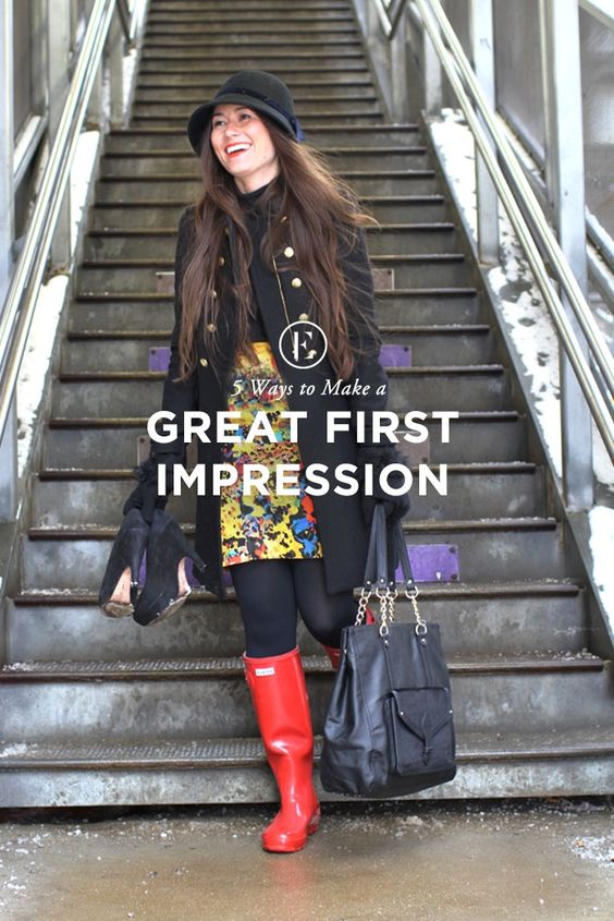 5 Ways to Make a Great First Impression