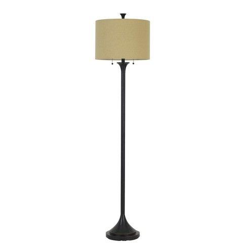 Cosenza Metal Floor Lamp Bronze 6 X3 3 Cal Lighting Target Bronze Floor Lamp Energy Efficient Light Bulbs Metal Floor Lamps