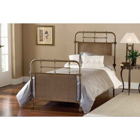 Kensington Bed Set - Old Rust by Hillsdale Products, Beds and Rust