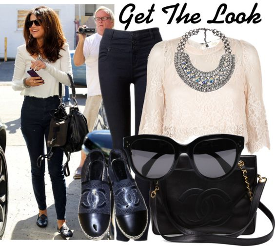 """Get The Look: Selena Gomez"" by martso on Polyvore"