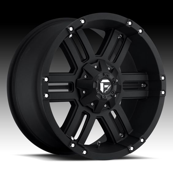 Fuel Off Road Wheels Gauge 18 Inch 18x9 0 Black Rims