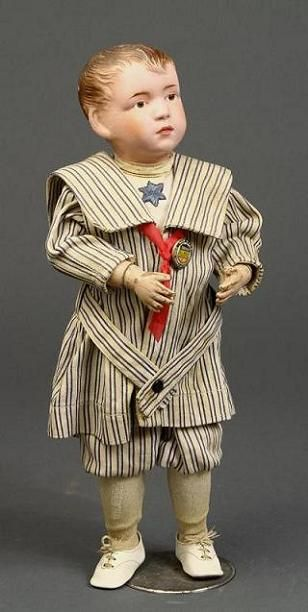 Schoenhut boy doll ... beautifully crafted clothing on these dolls