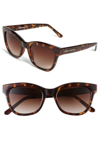 Vince Camuto Retro Inspired Plastic Sunglasses | Nordstrom - StyleSays