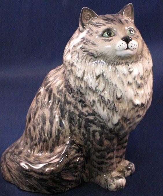 Beswick Persian Swiss Roll Cat 1880 | eBay