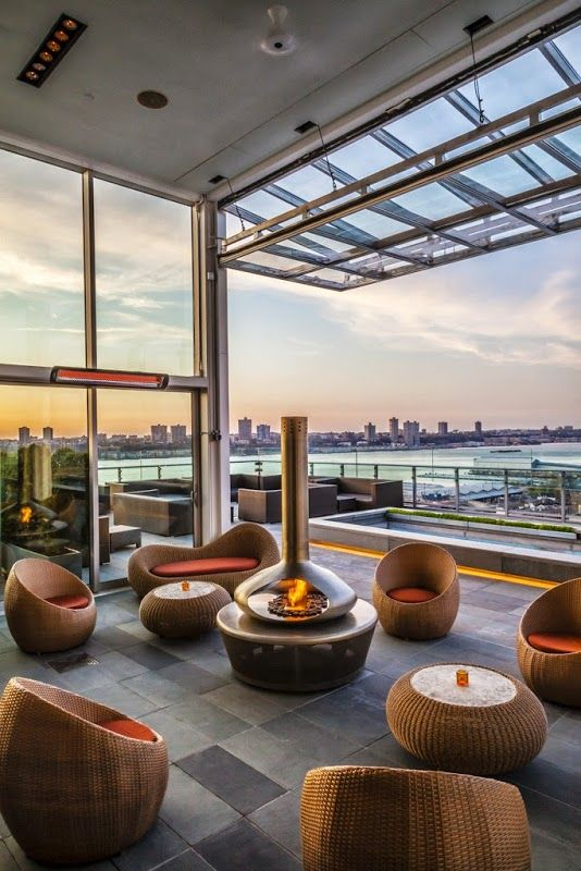 A Modern Twist On Outdoor Seating Arrangements Takeaseat