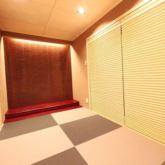 匠工房 インテリア On Instagram お洒落な和室 琉球畳にダウンライト