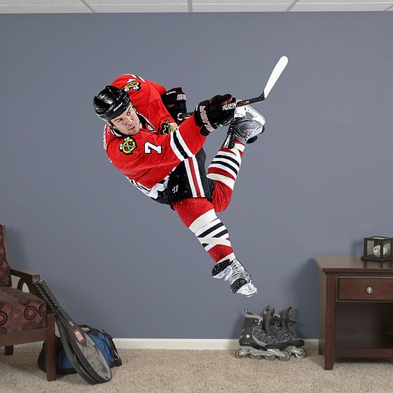 Fathead Wall Graphic Chicago Blackhawks Wall Decal Sports