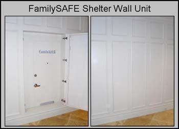 Hidden safe room home building ideas pinterest safe for Panic room construction plans