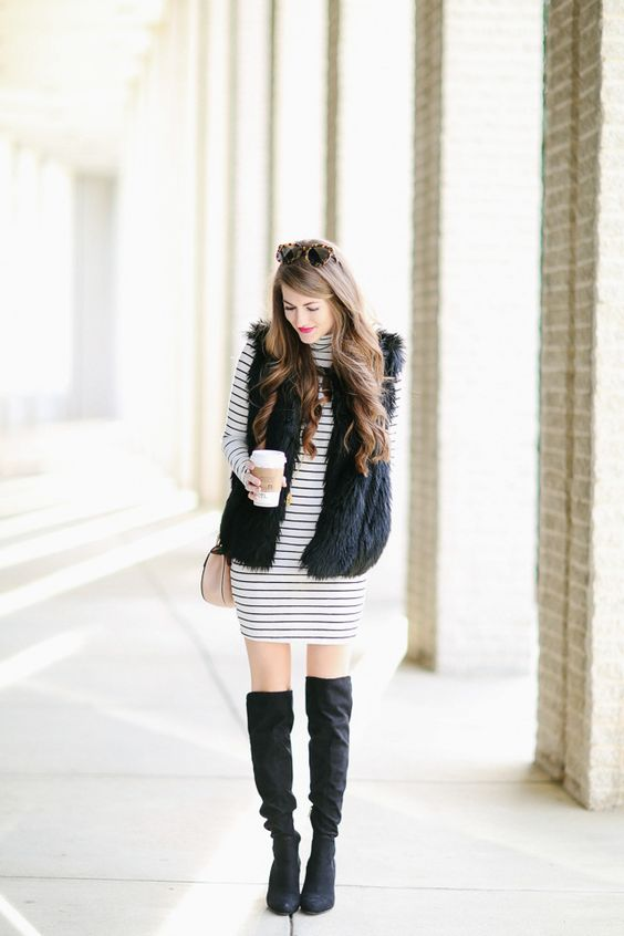 Southern Curls & Pearls: Black & White