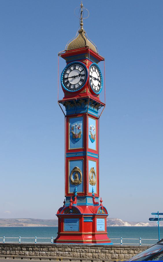 The Jubilee Clock - Weymouth.  The town is planning a host of great activities and events this summer, keep an eye on our events page for more information.