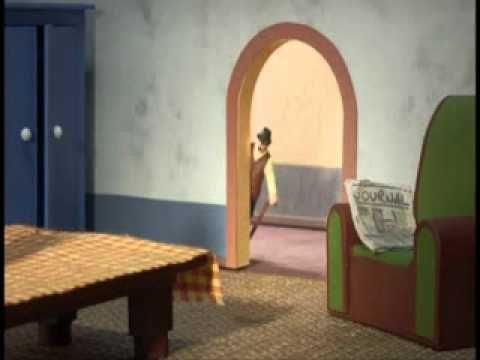 Panique au Village 4 La séance de pose - YouTube