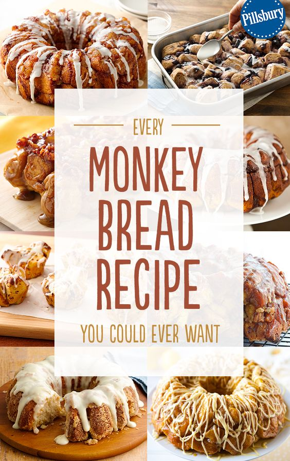 Your favorite homemade breakfast creation: Monkey Bread! We have all the recipes you could ever want. Use our Pillsbury refrigerated biscuits to create this delectable treat for your family and friends. These easy recipe will become your go-to breakfast of choice!
