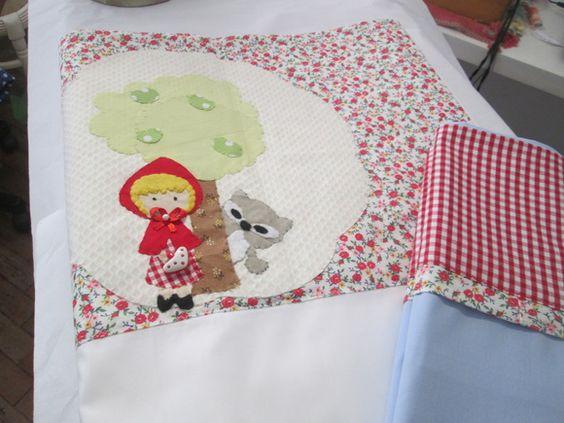 Em+tricoline+superior+,100%+algodão,+gracioso+lençolzinho+com+tema+de+histórias+infantis+. R$ 90,00