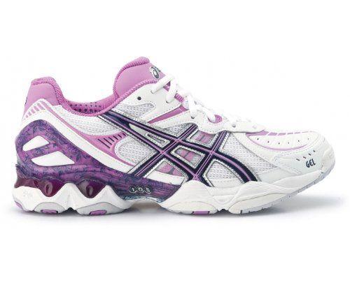 ladies purple asics trainers