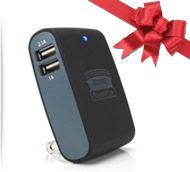 Black Friday Deal #5: ReVIVE PowerUP Q4 AC Wall Adapter w/ 4 USB Charge Ports and 1A , 2A , 2.1A Charging Capabilities for powering Phones, Tablets, MP3 Players, Bluetooth Headsets, Portable Speakers & More! Only $14.99 http://www.accessorygenie.com/Genie-ous-Deals-cid222/blackfriday