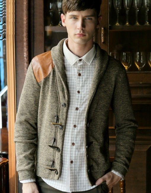 Men's Vintage England Style Casual Jacket