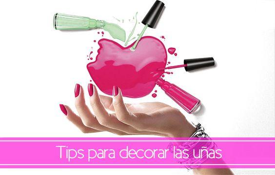 tips para decorar las uñas