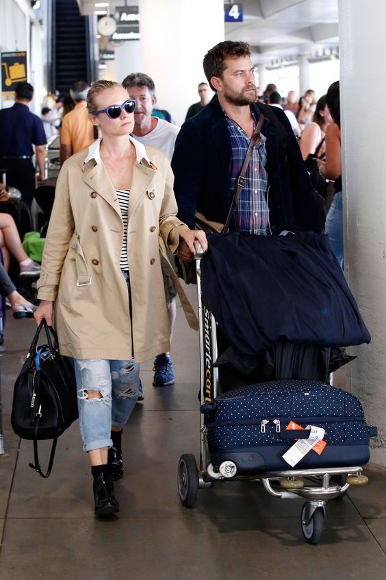 Airport Style - Diane Kruger