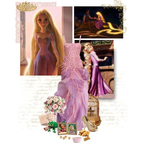 10/30 Best Hair: Rapunzel, created by wedancefordreams.polyvore.com