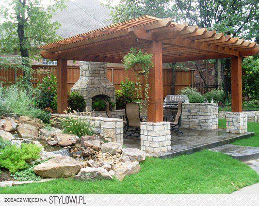 Image Result For Kiosco De Jardin Casa 4 Columnas