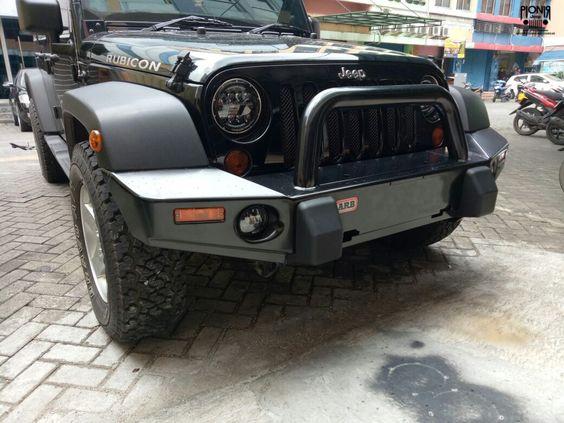 Jual Bemper Depan Logam Merek Arb Original Untuk Jeep Jk Wrangler