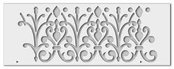 Bildergebnis Fur Orientalische Ornamente Schablone Schablonen Ornamente Orientalisch