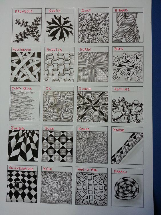 zentangle worksheet gift ideas pinterest coloring charts and patterns. Black Bedroom Furniture Sets. Home Design Ideas