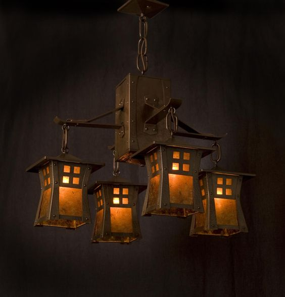Copper Moon Light Fixtures
