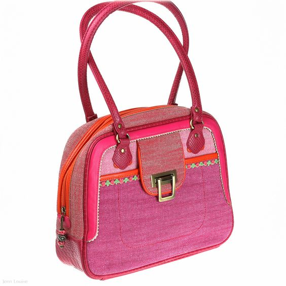 Nina Day Bag (Jitterbug) - Shoulder Bags - Jenn Louise - Spencer & Rutherford