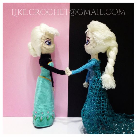 Crochet Elsa Amigurumi : Disney, The ojays and Elsa on Pinterest