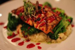 Grilled Salmon from Second Street Bistro in Williamsburg, VA