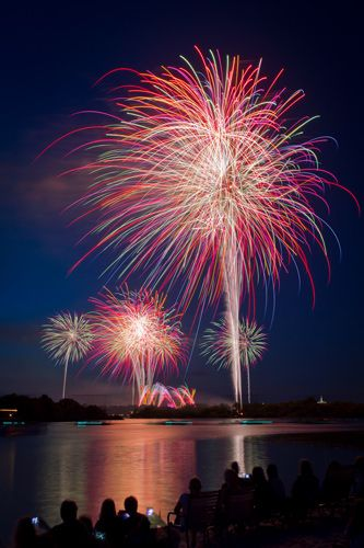"6 Tips on How to Capture Great Fireworks Photos. Author: Michelle Lee Fui Jinn. Photo: ""Magic Kingdom – Happy Fourth of July"" captured by Jeff Krause. http://www.picturecorrect.com/tips/6-tips-on-how-to-capture-great-fireworks-photos/"