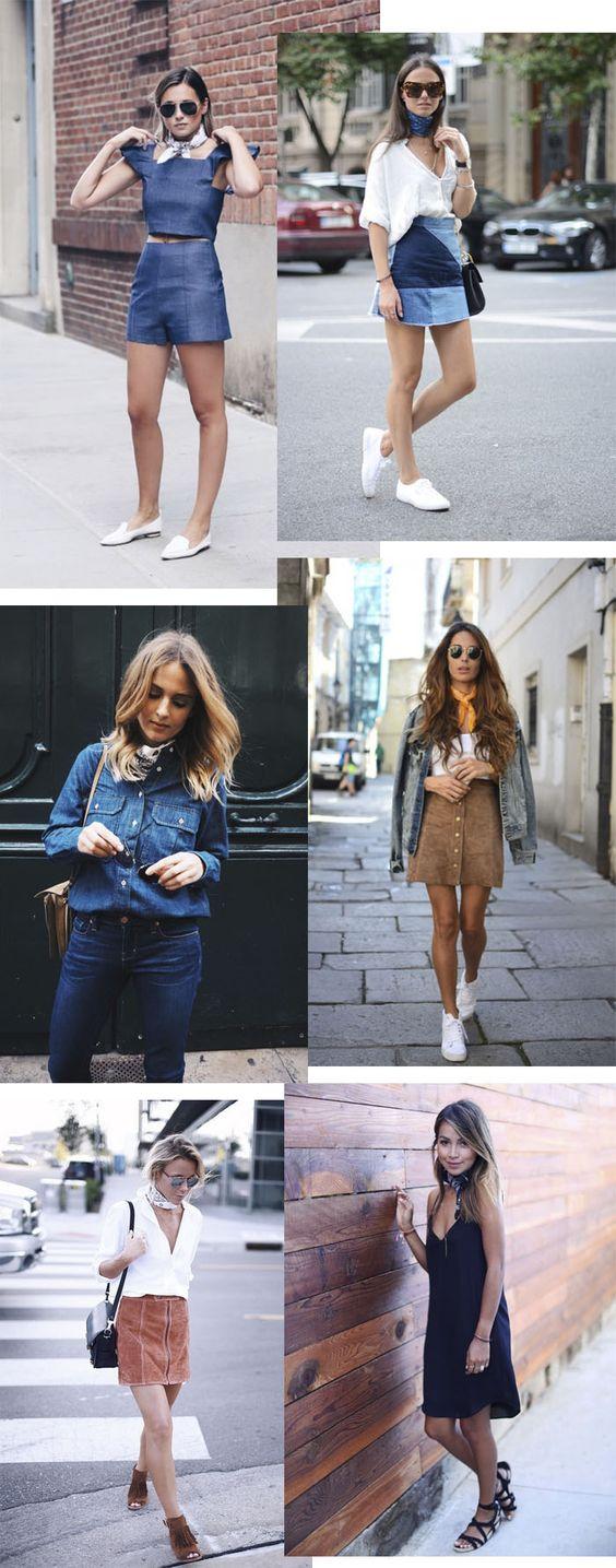 Truque de estilo: lenço no pescoço - My Lifestyle: