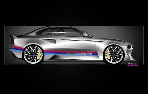 The 2002 Hommage concept pays tribute to BMW's most important car | The Verge