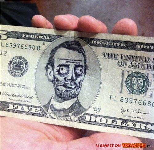 I TROLLED the Five Dollar Bill…ME GUSTA»http://urbanfun.tk/gag/1339
